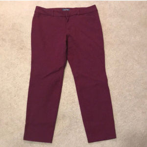 Old Navy pixie cropped pants size 12